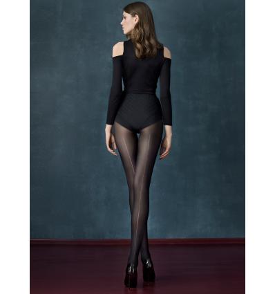 Long black van Fiore - fashion panty