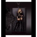 Art. 302 panty zwart-grau 20/50den