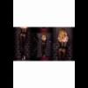 Art. 303 panty zwart-bordeaux 50den
