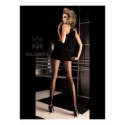 Art. 050 zwart panty 20den