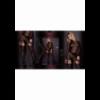 Art. 306 panty zwart-goud 20/50den